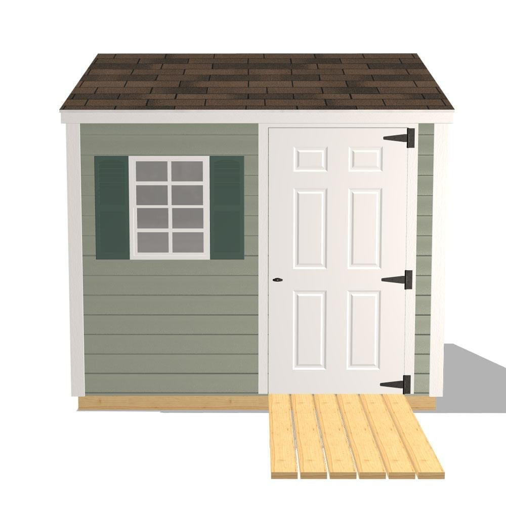 Chateau 32x32 Wooden Sheds - Preconfigured Favorites