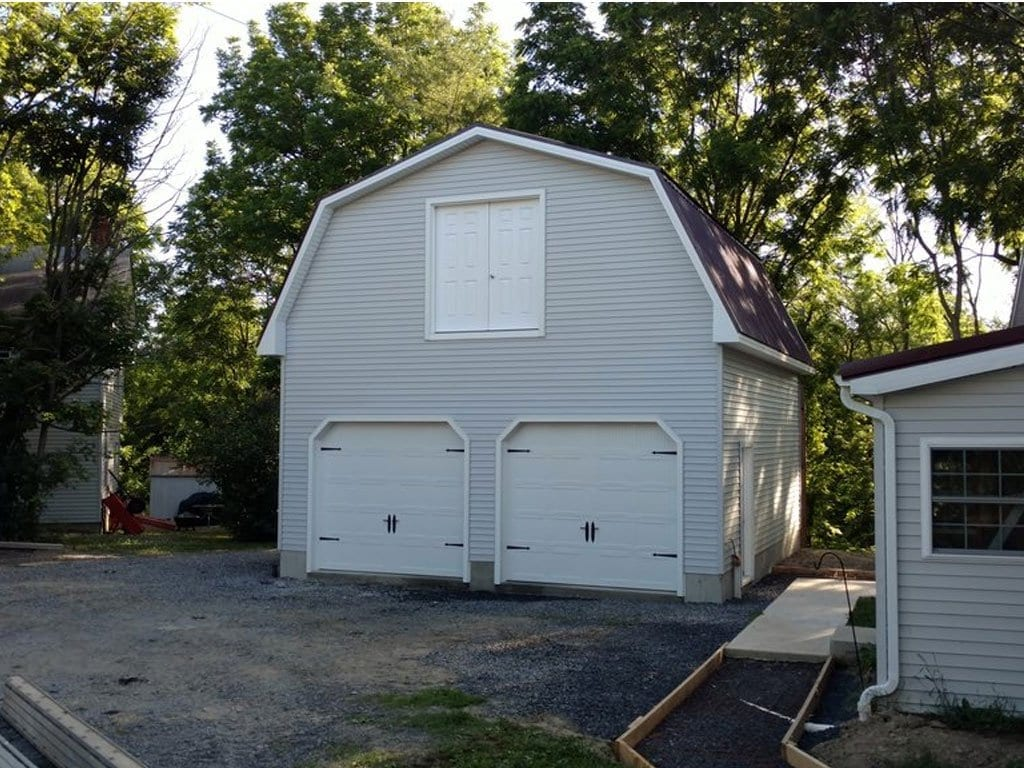 Gambrel Style Garage Builders New England