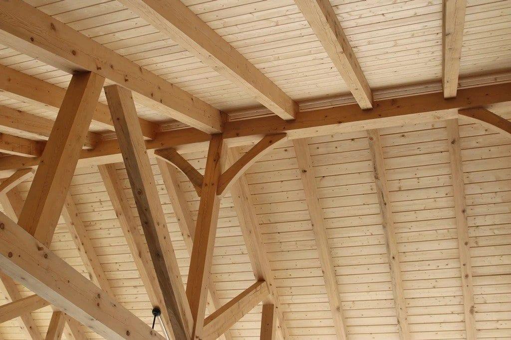 T&G Wood Ceiling Pavilions MA NH