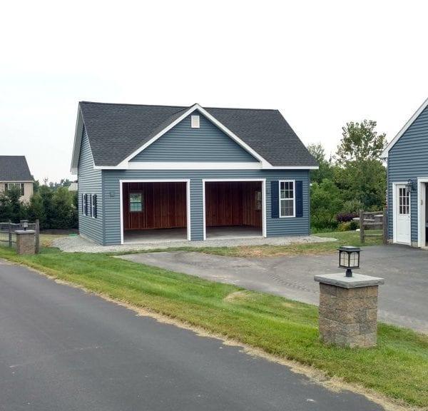 Premade Custom Garage Designs New England