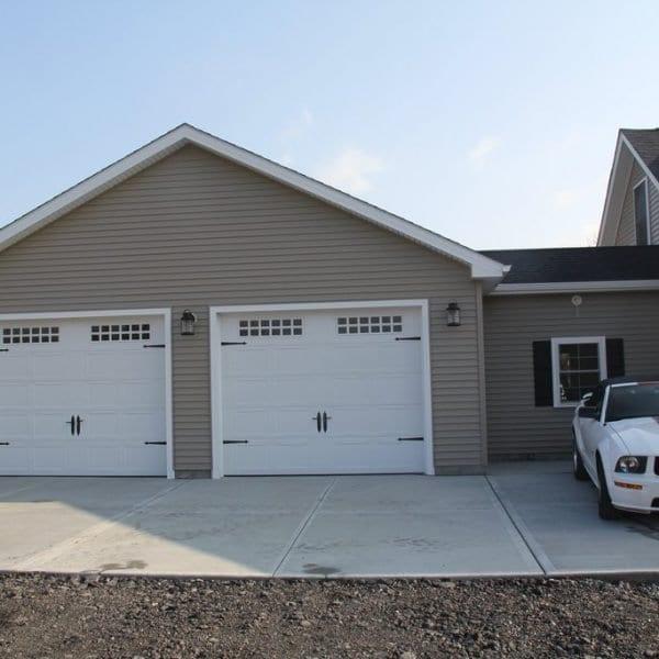 Custom Built Truss Design Garages New England