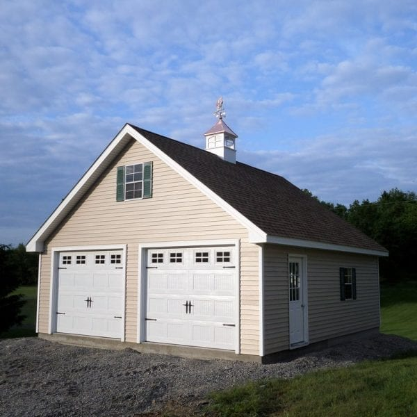 Attic Truss Prefab Garage Builders MA