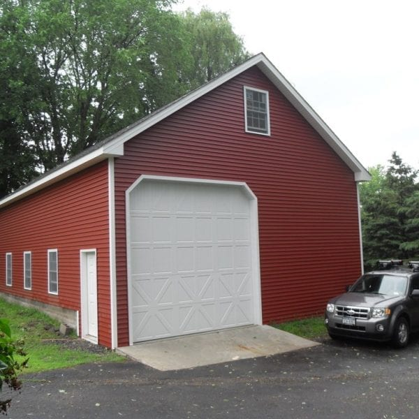 Farm House Garage Builders New England
