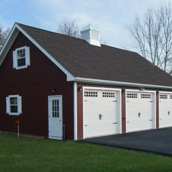 Custom Built Prefab Detached Garage MA NH