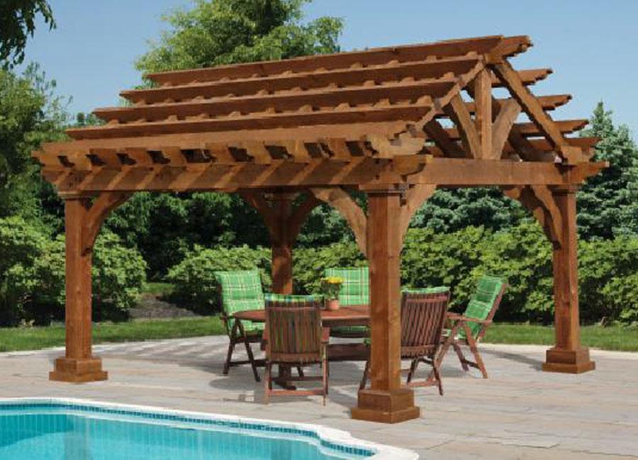 Cedar Pergolas for Sale | Cedar Grand Escape Pergola