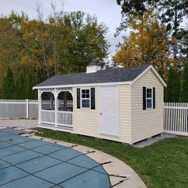 Custom Designed Shed Pavilions MA NH