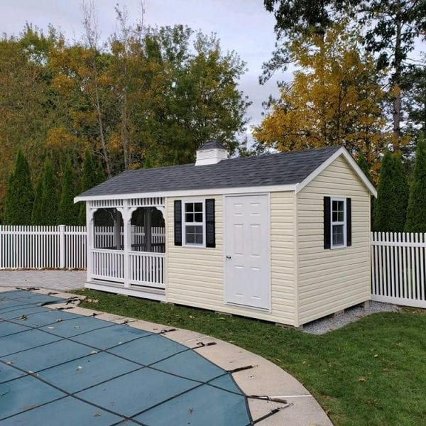 Custom Shed Pavilion Builders MA NH