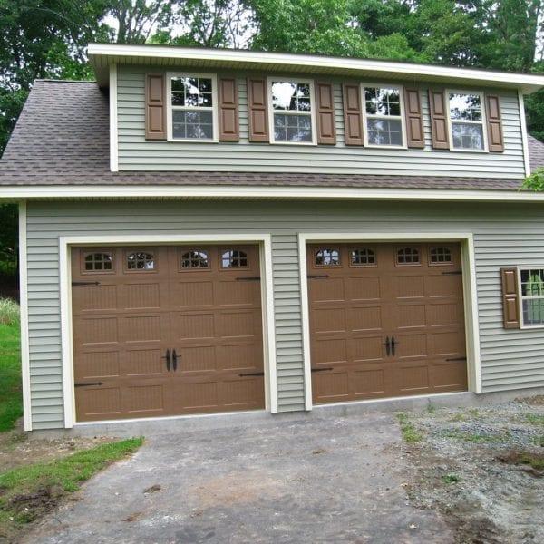 Custom Prefabricated Garage Builders MA NH