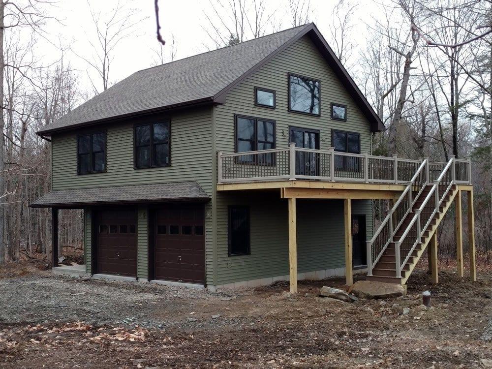 Custom Garage Builders Ma Nh Prefab, Garage With Living Quarters Prefab