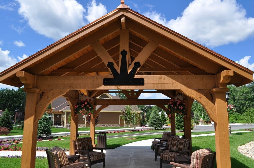 Grand Escape Rough Sawn Timber Pavilions MA NH