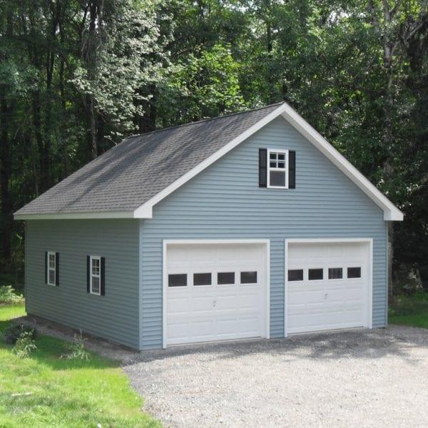 Custom Built Prefab Garage in MA NH
