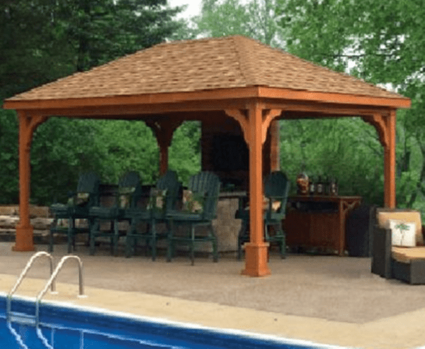 Custom Cedar Pavilion Designs MA NH