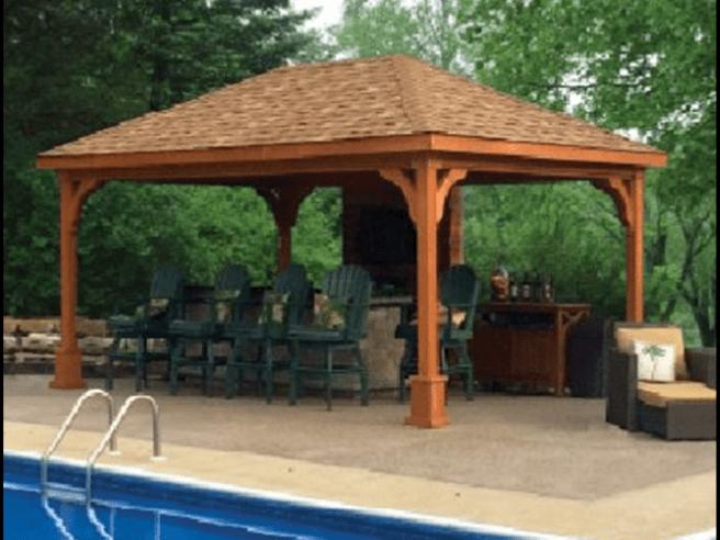 Custom Cedar Pavilion Designs MA NH
