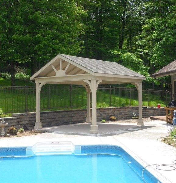 Custom Built Cedar Pavilions MA NH