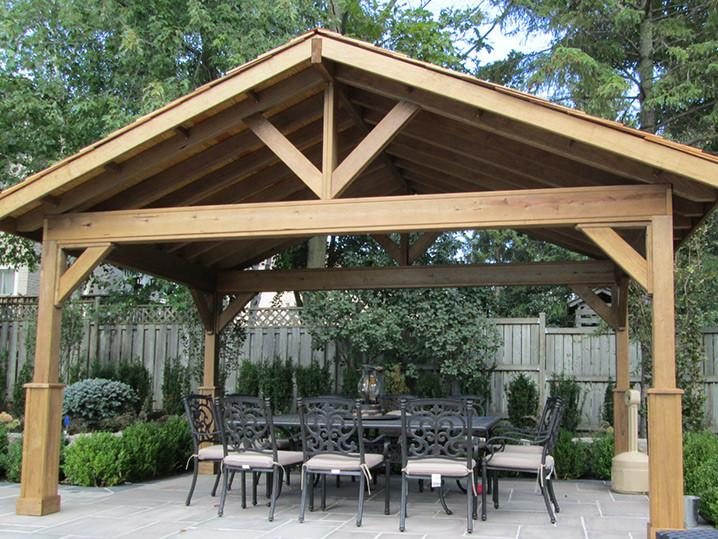 Custom Built Cedar Pavilions New England