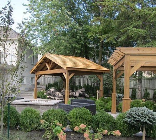 Prefab Cedar Pavilion Designs MA NH