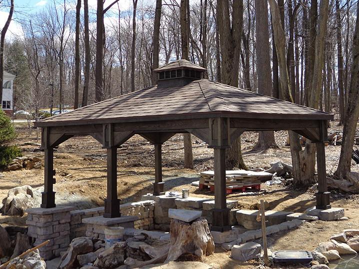 Custimzed Cedar Pavilions New England