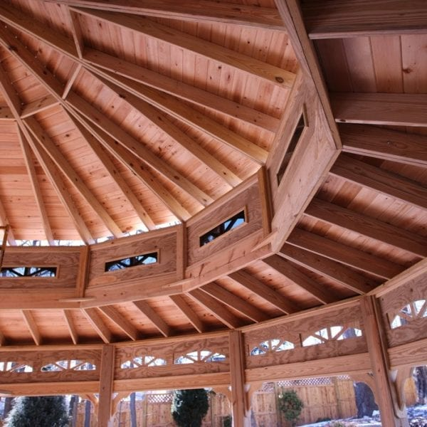 Cedar Pavilion Design & Build MA NH