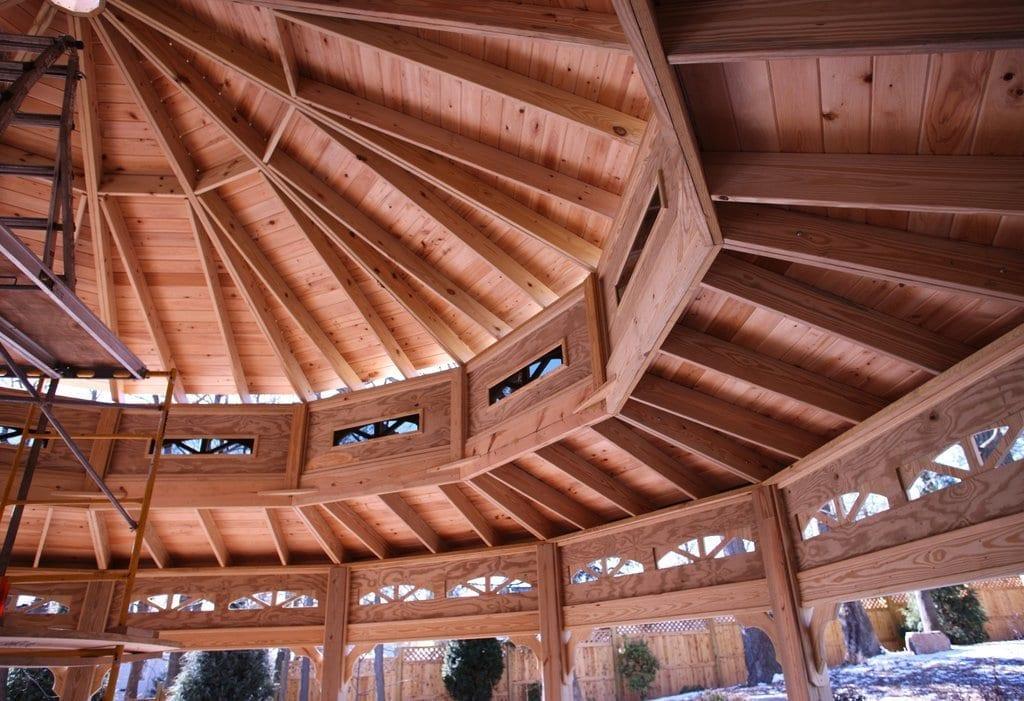 Cedar Pavilion Design & Build MA NH