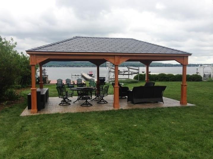 PT Pine Pavilion Builders MA NH