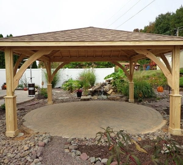 Custom Built Pine Pavilions MA NH