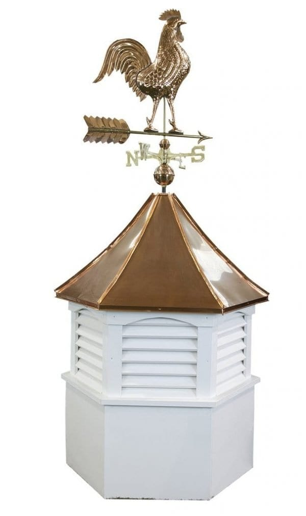 Rooster Copper Weathervanes - Buy Online