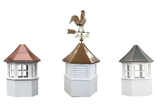 Custom Hexagon Cupolas - Buy Online