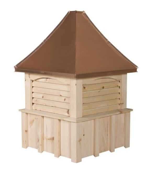 Pine Louvered Cupolas for Sale