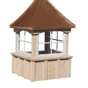 Traditional Wood & Copper Cupolas