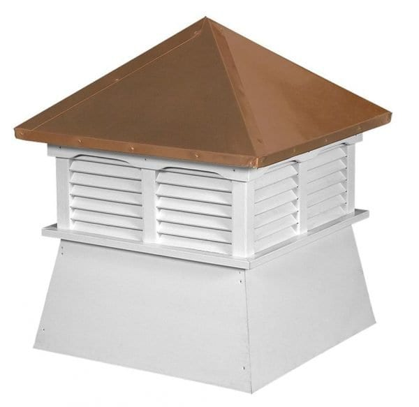 Copper Top Wood & Vinyl Cupolas for Sale