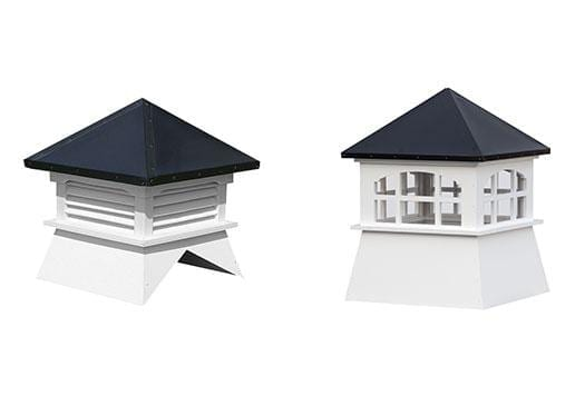 Custom Wood & Vinyl Cupolas & Weathervanes