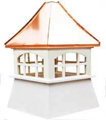 Copper Roof Cupolas for Sale - Buy Online