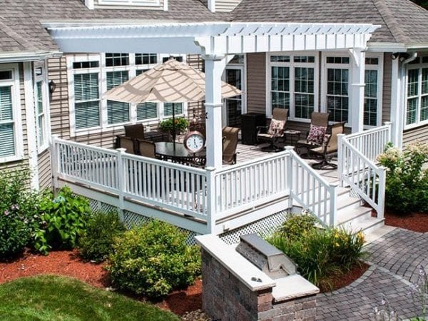 Custom Pergola Builders in MA & NH