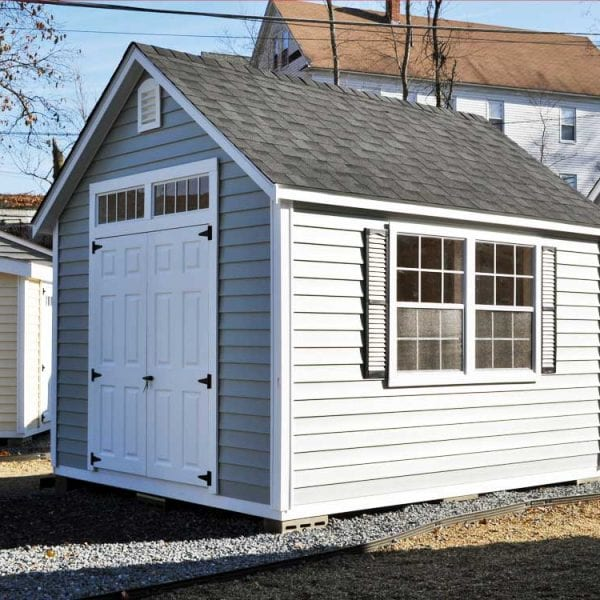 Custom Built Storage Sheds - Aspen Deluxe