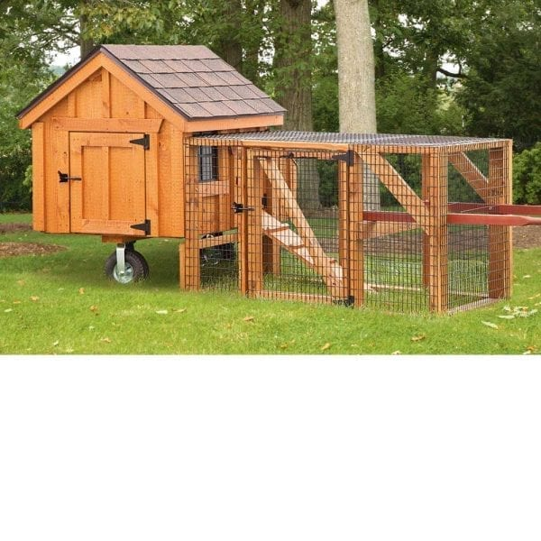 Large Chicken Coops with Runs MA NH