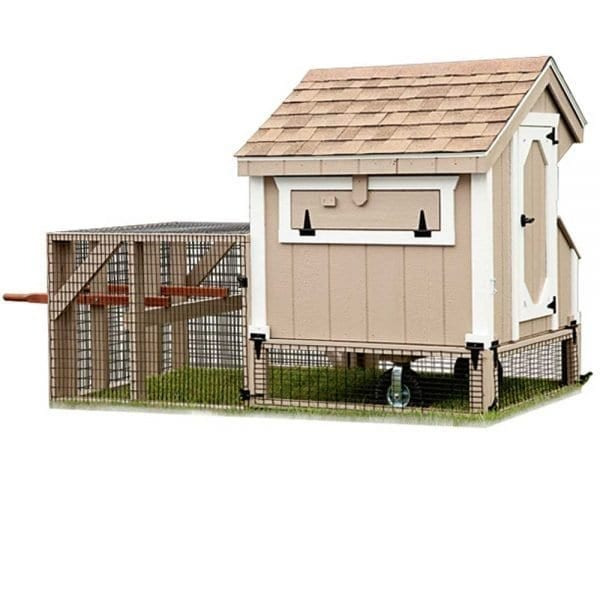 Tractor Style Chicken Coops MA