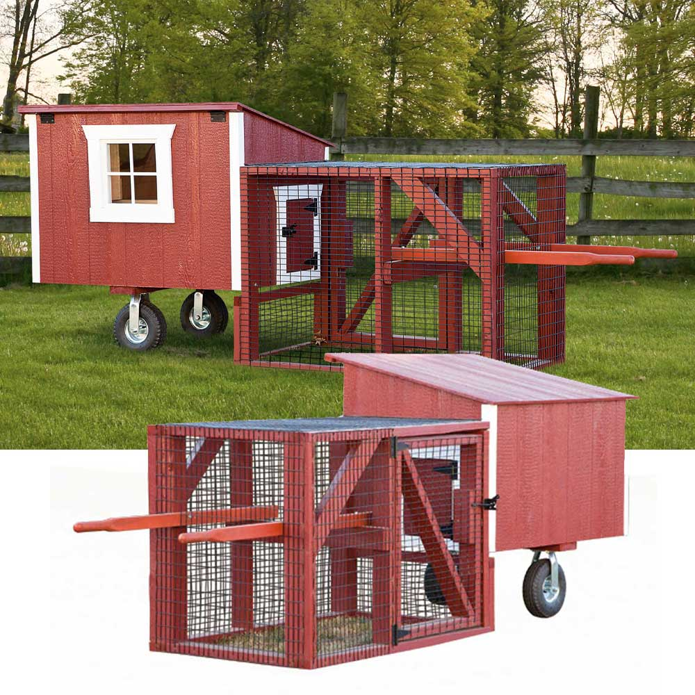 Portable Chicken Coops with Run