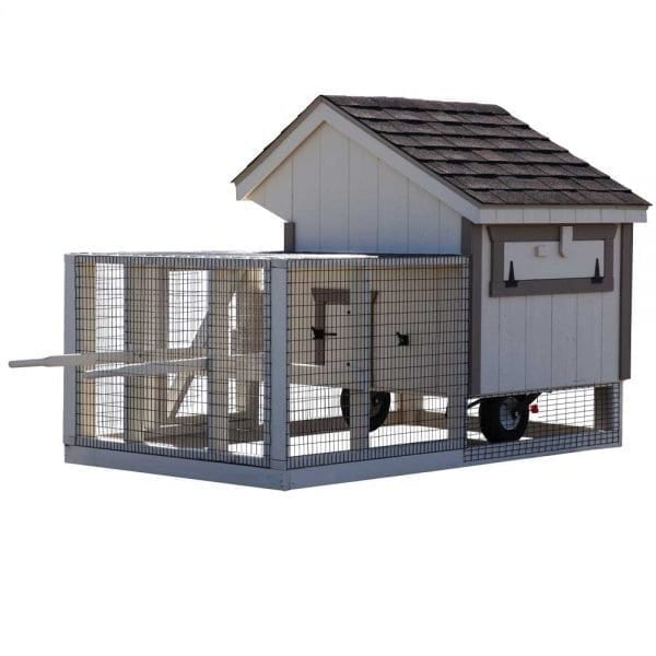 Chicken Coop on Wheels MA