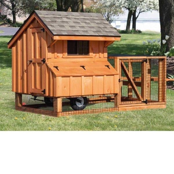 Tractor Chicken Coop Designs