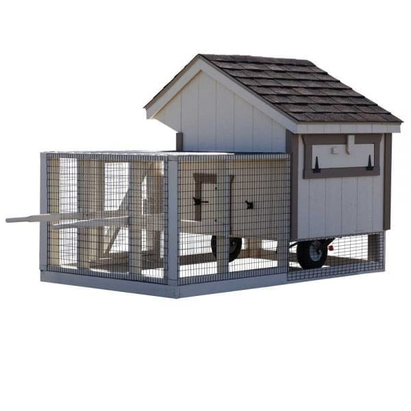 Moveable Chicken Coops with Wheels NE