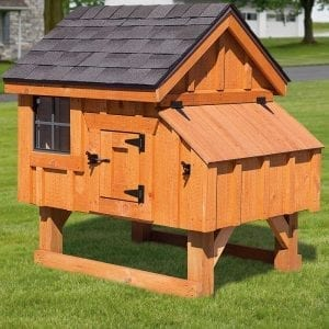 Custom Wood Chicken Coops MA