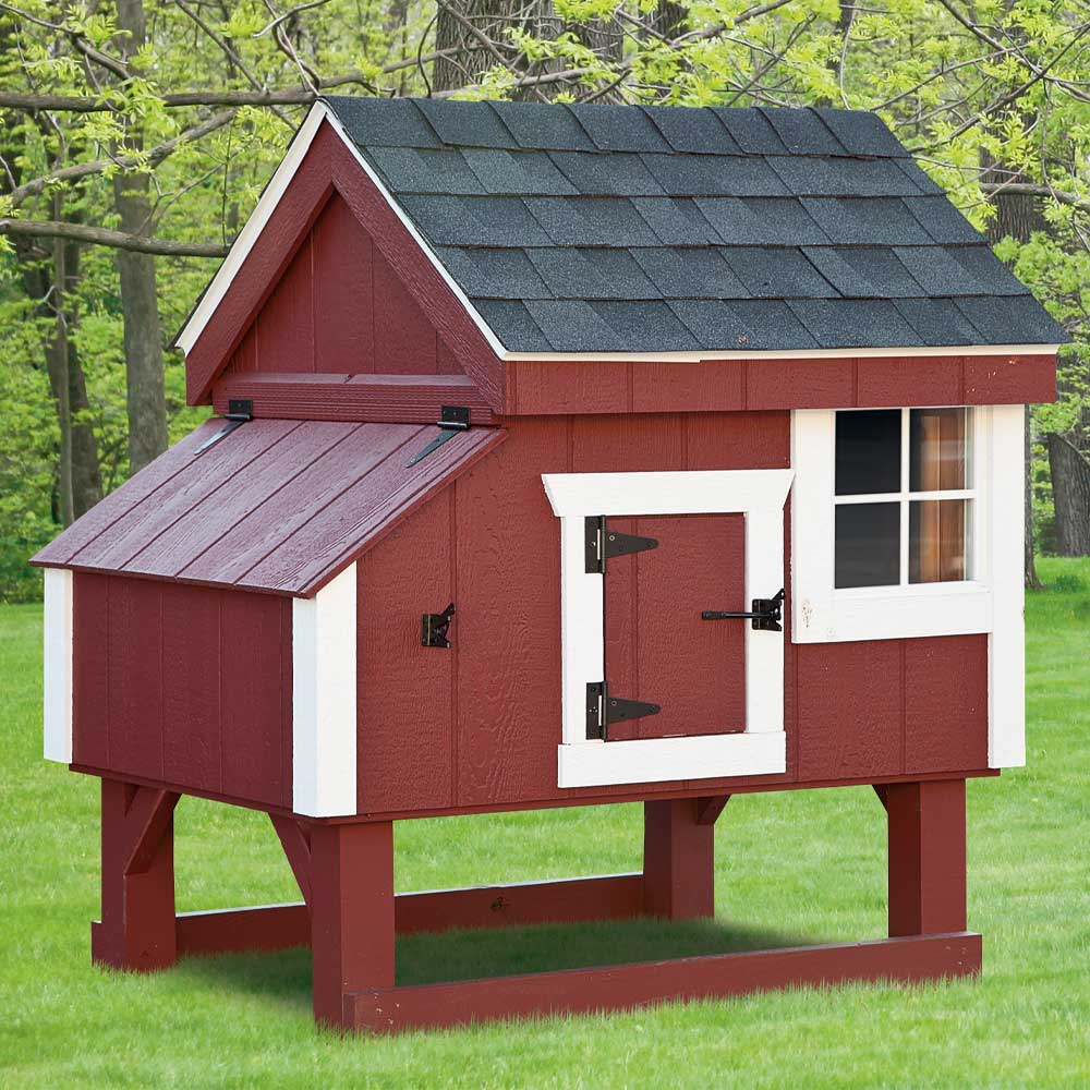 Custom Mini Barn Chicken Coops MA