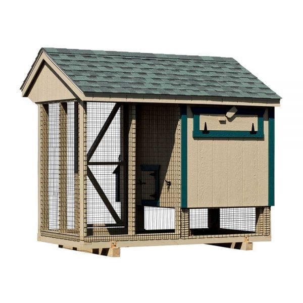 Small Chicken Coops with Run New England
