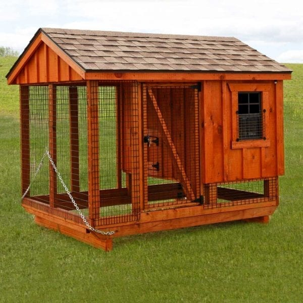 Custom Wooden Chicken Coops MA