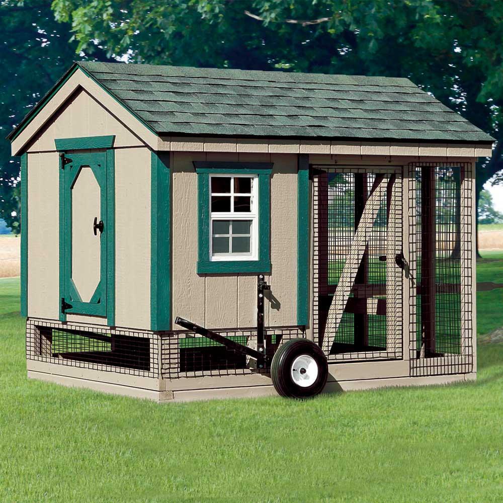 Wooden Hen Houses New England