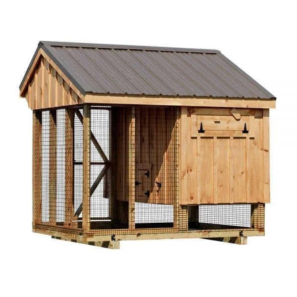 Made to Order Chicken Coops with Runs MA NH