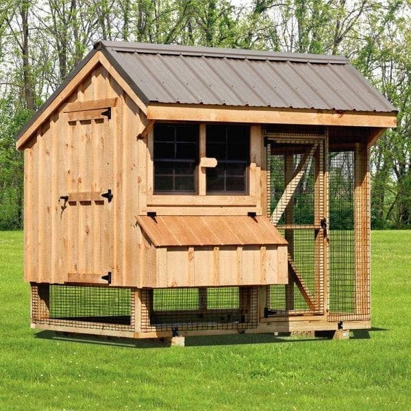 Custom Chicken Coops for Sale with Runs MA NH