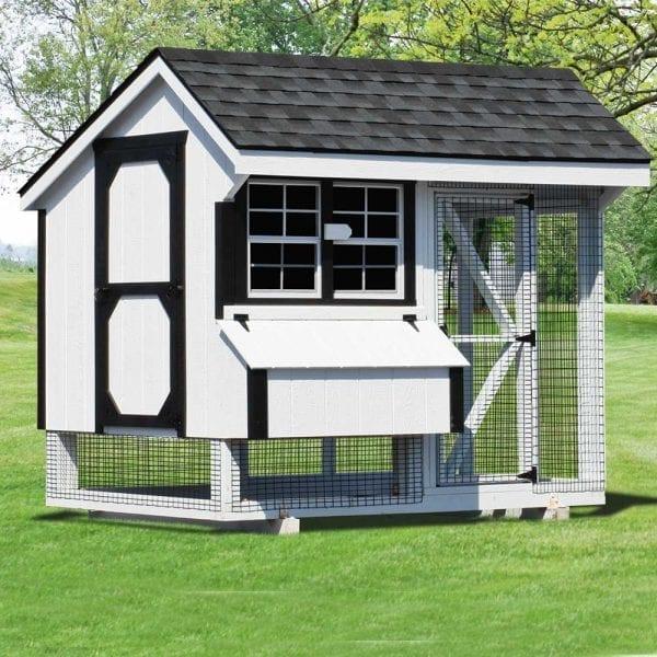 Custom Built Chicken Houses MA