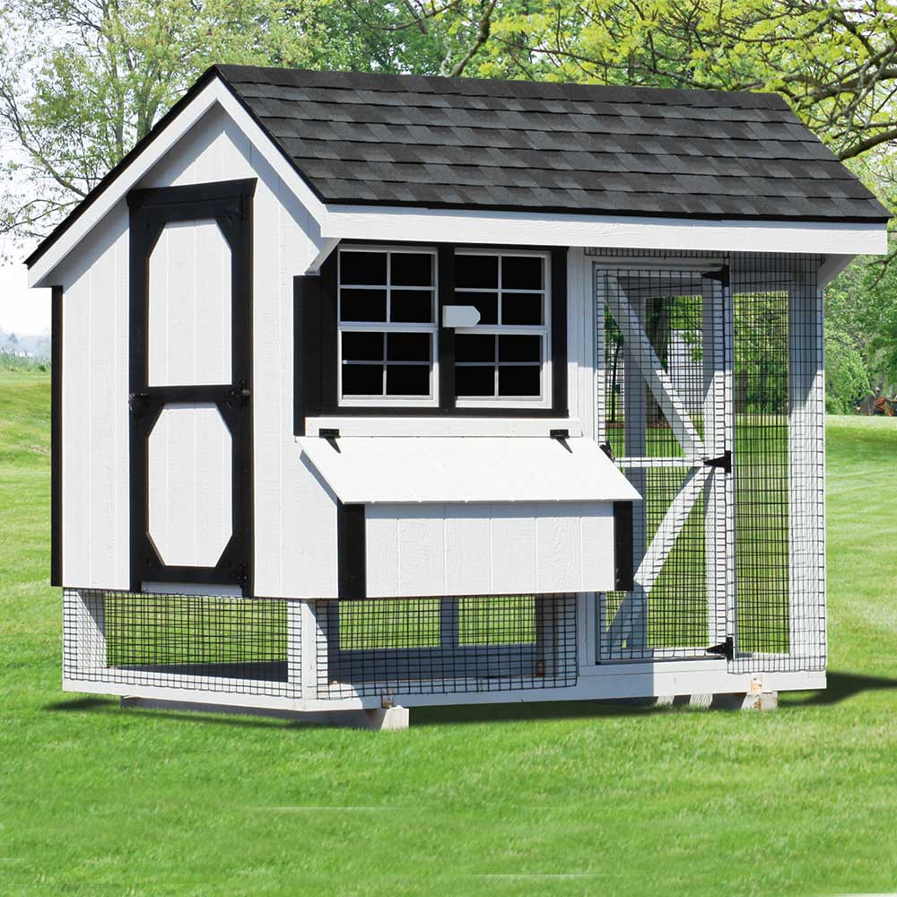 Custom Built Chicken Houses MA