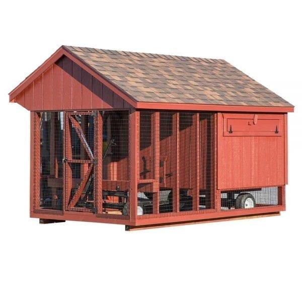 Custom Built Hen Houses Boston